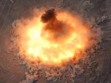 Clip: Sức công phá kinh hoàng siêu bom 10 tấn Mỹ