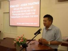 Tướng Hồ Sỹ Tiến nói về vụ cướp ngân hàng ở Trà Vinh