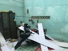 Bão Damrey tàn phá nhà cửa ở Diên Khánh