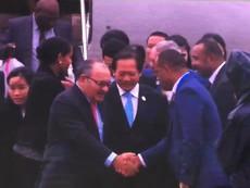 Đoàn lãnh đạo Papua New Guinea tới Đà Nẵng dự APEC