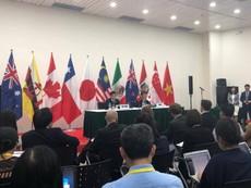 Họp báo thông báo kết quả Hiệp định TPP