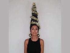 Kiểu tóc độc lạ cho mùa Giáng sinh