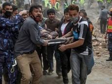 Ác mộng động đất Nepal: Hơn 1.800 người đã thiệt mạng