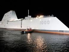 'Quái vật' chiến hạm của Mỹ bắt đầu chạy thử nghiệm