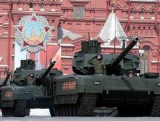 Nga diễu binh ngày Chiến thắng phát xít tại Quảng trường Đỏ