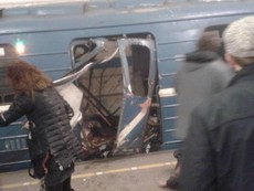 Ảnh: Hiện trường hỗn loạn vụ nổ ga tàu điện ngầm Nga