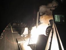 Mỹ dội tên lửa lên Syria, Nga đã được báo trước
