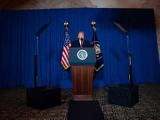 Ông Trump: Đánh Syria là vì lợi ích cốt yếu của Mỹ