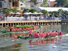 Lần đầu tổ chức đua thuyền trên kênh Nhiêu Lộc-Thị Nghè