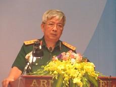Đại tướng Phùng Quang Thanh chúc mừng hội thảo gìn giữ hòa bình ngày 27-7