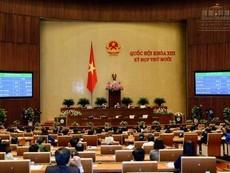 Thường vụ Quốc hội họp bất thường vì sai sót Bộ luật Hình sự