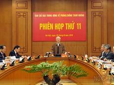 Tổng Bí thư lập 8 Đoàn kiểm tra về tham nhũng ở 20 tỉnh