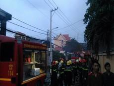 Cháy nhà ở quận 9, ít nhất 2 người tử vong