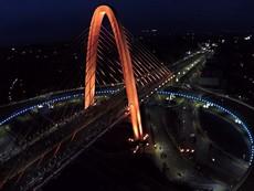 Hình ảnh tuyệt đẹp của cây cầu vượt 3 tầng vừa khánh thành tại Đà Nẵng