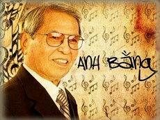 Nghe một số ca khúc nổi tiếng của nhạc sĩ Anh Bằng