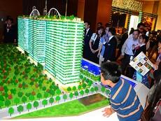 Dự án bất động sản 'biệt thự vườn trên không'
