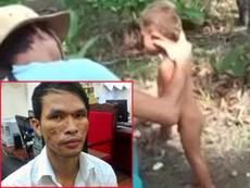 Đã bắt nghi can hành hạ bé trai Campuchia
