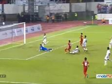 U-22 Việt Nam bị U-22 Indonesia cầm hòa 0- 0