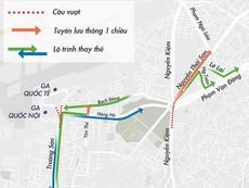 Phân luồng lại nhiều tuyến đường cửa ngõ Tân Sơn Nhất
