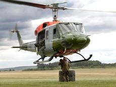 Cận cảnh trực thăng vừa bị rơi của Thái Lan