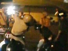 Clip cảnh sát đánh dân