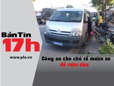 Bản tin 17h: Công an cho nhà trai mượn xe để rước dâu