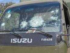 50 công nhân Đồng Nai đập xe cảnh sát giao thông