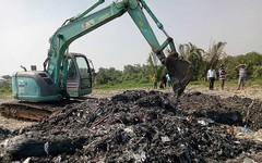 Thông tin mới vụ chôn rác thải ở Bình Chánh