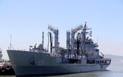 Cận cảnh 2 tàu hải quân Hàn Quốc thăm Đà Nẵng