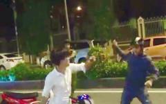 Móc dao tấn công cảnh sát rồi nhảy sông Sài Gòn