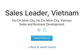 Apple bất ngờ tuyển trưởng phòng kinh doanh tại Việt Nam