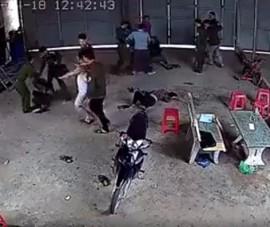 Chủ tịch xã thông tin về clip hàng chục công an đánh dân