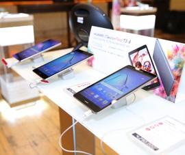 Bộ đôi máy tính bảng Huawei với hệ thống loa kép