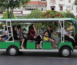 Ô tô điện đăng ký tạm thời mới được phép hoạt động