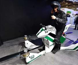 Cảnh sát Dubai sắp tuần tra bằng… xe bay