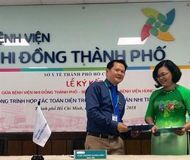 Ba bệnh viện sản nhi ký kết hợp tác toàn diện