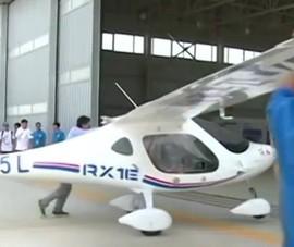 Trung Quốc có máy bay điện đầu tiên trên thế giới