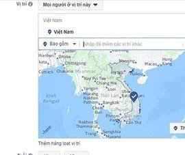 Yêu cầu Facebook làm rõ vụ sai lệch Hoàng Sa-Trường Sa