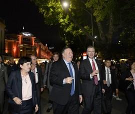 Ngoại trưởng Mỹ: Tình hữu nghị Việt - Mỹ tràn đầy hứa hẹn