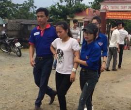 Một nữ sinh 4 giờ sáng rời bệnh viện đến thi tốt nghiệp