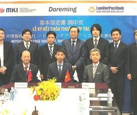 LienVietPostBank ký hợp tác với nhiều đối tác Nhật Bản