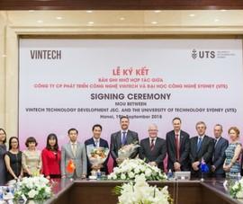 VinTech và ĐH Công nghệ Sydney hợp tác về công nghệ