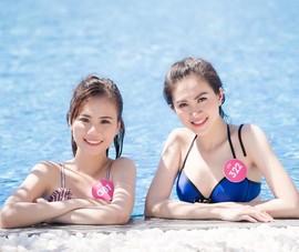 Người đẹp Hoa hậu Việt Nam 2018 khoe sắc ở Quy Nhơn