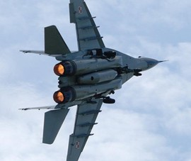 MiG-29 của Nga rơi trong khi hạ cánh khẩn cấp