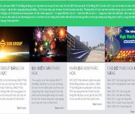 Trang web giả mạo Lễ hội bắn pháo hoa Đà Nẵng