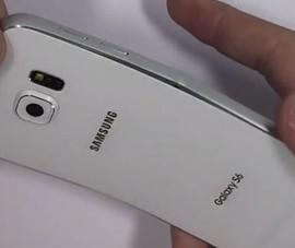 """[Video] Galaxy S6 được trải nghiệm """"bẻ cong"""""""