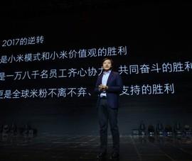 Xiaomi phát triển thần tốc trong năm 2017