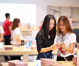 Xiaomi mở cửa hàng lớn nhất khu vực tại TP.HCM