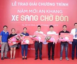 NCB trao xe Toyota Vios cho khách hàng trúng thưởng