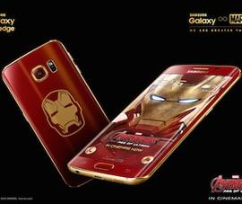 Samsung ra mắt phiên bản Galaxy S6 Edge Iron Man